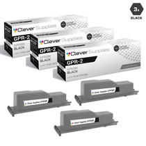 Compatible Canon GPR-2 (1388A003AA) Toner Cartridges Black 3 Pack