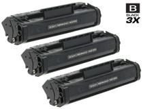 Compatible Canon FX-3 (1557A002BA) Toner Cartridges Black 3 Pack