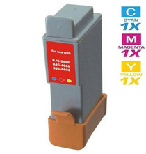 Compatible Canon BCI-21 Ink Cartridge Remanufactured Tri Color
