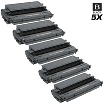 Compatible Canon E40 (1491A002AA) Premium Quality Toner Cartridges Black 5 Pack