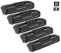 Compatible Canon FX-3 (1557A002BA) Premium Quality Toner Cartridges Black 5 Pack