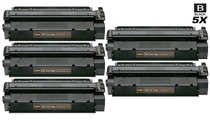 Compatible Canon S35 (7833A001AA) Premium Quality Toner Cartridges Black 5 Pack