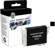 Compatible 385-Page Epson 126 Black High-Capacity Ink Cartridge/ T126120
