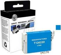 Compatible 480-Page Epson 126 Cyan High-Capacity Ink Cartridge/ T126220