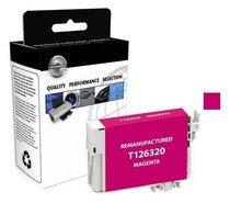 Compatible 480-Page Epson 126 Magenta High-Capacity Ink Cartridge/ T126320
