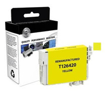 Compatible 480-Page Epson 126 Yellow High-Capacity Ink Cartridge/ T126420
