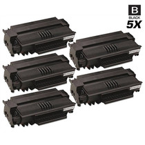 Compatible Okidata B2500 MFP Laser Toner Cartridges Black 5 Pack
