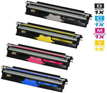 Compatible Okidata C130N Laser Toner Cartridges High Yield 4 Color Set