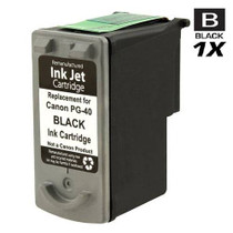 Compatible Canon PG-40 (0615B002) Ink Cartridge Remanufactured Black