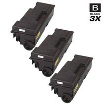 Compatible Kyocera Mita 1T02F80US0 (TK-312) Laser Toner Cartridges Black 3 Pack