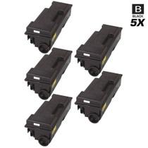 Compatible Kyocera Mita 1T02F80US0 (TK-312) Laser Toner Cartridges Black 5 Pack