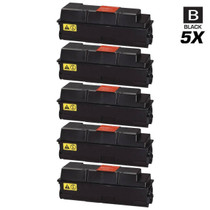 Compatible Kyocera Mita 1T02F90US0 (TK-322) Laser Toner Cartridges Black 5 Pack