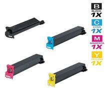 Compatible Konica Minolta TN-210 Laser Toner Cartridges 4 Color Set (8938-505/ 8938-508/ 8938-507/ 8938-506)