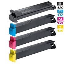 Compatible Konica Minolta TN-213 Premium Quality Laser Toner Cartridges 4 Color Set (A0D7132/ A0D7432/ A0D7332/ A0D7232)