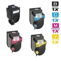 Compatible Konica Minolta TN-310 Laser Toner Cartridges 4 Color Set (4053-401/ 4053-701/ 4053-601/ 4053-501)