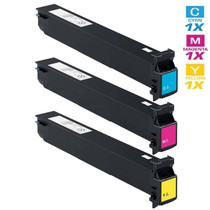 Compatible Konica Minolta TN-613 Laser Toner Cartridges 3 Color Set (A0TM430/ A0TM330/ A0TM230)