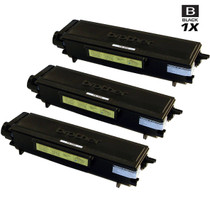 Compatible Premium Brother TN580 Laser Toner Cartridge High Yield Black 3 Pack