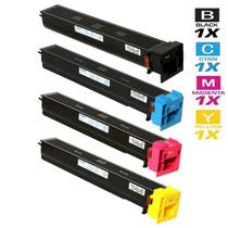 Compatible Konica Minolta TN-611 Premium Quality Laser Toner Cartridges 4 Color Set (A070130/ A070430/ A070330/ A070230)