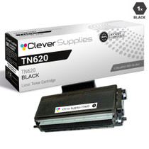 Compatible Brother TN620 Laser Toner Cartridge Black