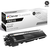 Compatible Brother TN210BK Laser Toner Cartridge Black