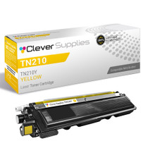 Compatible Brother TN210Y Laser Toner Cartridge Yellow