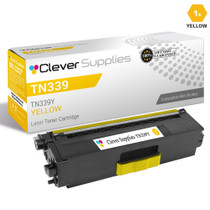 Compatible Brother TN339Y Laser Toner Cartridge High Yield Yellow