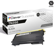 Compatible Brother TN350 Laser Toner Cartridge Black