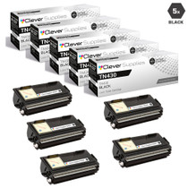Compatible Premium Brother TN430 Laser Toner Cartridge Black 5 Pack