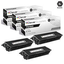 Compatible Premium Brother TN460 Laser Toner Cartridge High Yield Black 3 Pack