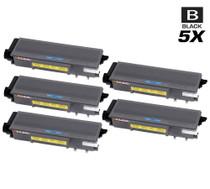 Compatible Konica Minolta A32W011 (TNP-24) Laser Toner Cartridges Black 5 Pack
