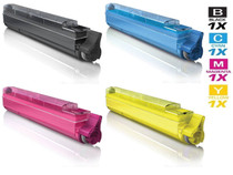 Compatible Okidata Type C7 Laser Toner Cartridges 4 Color Set (42918904/ 42918903/ 42918902/ 42918901)