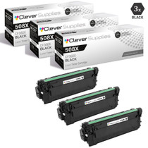 CS Compatible Replacement for HP 508X Toner Cartridges 3 Black Set (CF360X)