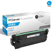 CS Compatible Replacement for HP 508X Toner Cartridges Cyan (CF361X)