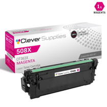 CS Compatible Replacement for HP 508X Toner Cartridges Magenta (CF363X)