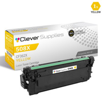 CS Compatible Replacement for HP 508X Toner Cartridges Yellow (CF362X)