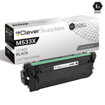 CS Compatible Replacement for HP M533X Toner Cartridges Black (CF360X)