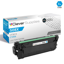 CS Compatible Replacement for HP M533X Toner Cartridges Cyan (CF361X)