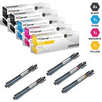 Compatible Ricoh 8412 Toner Cartridge 5 Color Set (841276, 841279, 841278, 841277)