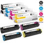 Compatible Canon 131H & 131 Premium Quality Toner Cartridges 4 Color Set (6273B001AA/ 6271B001AA/ 6270B001AA/ 6269B001AA)