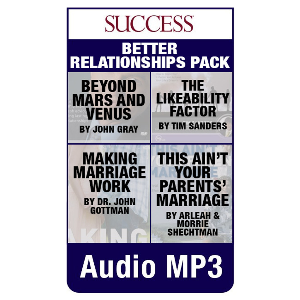 Better Relationships Audio MP3s Pack
