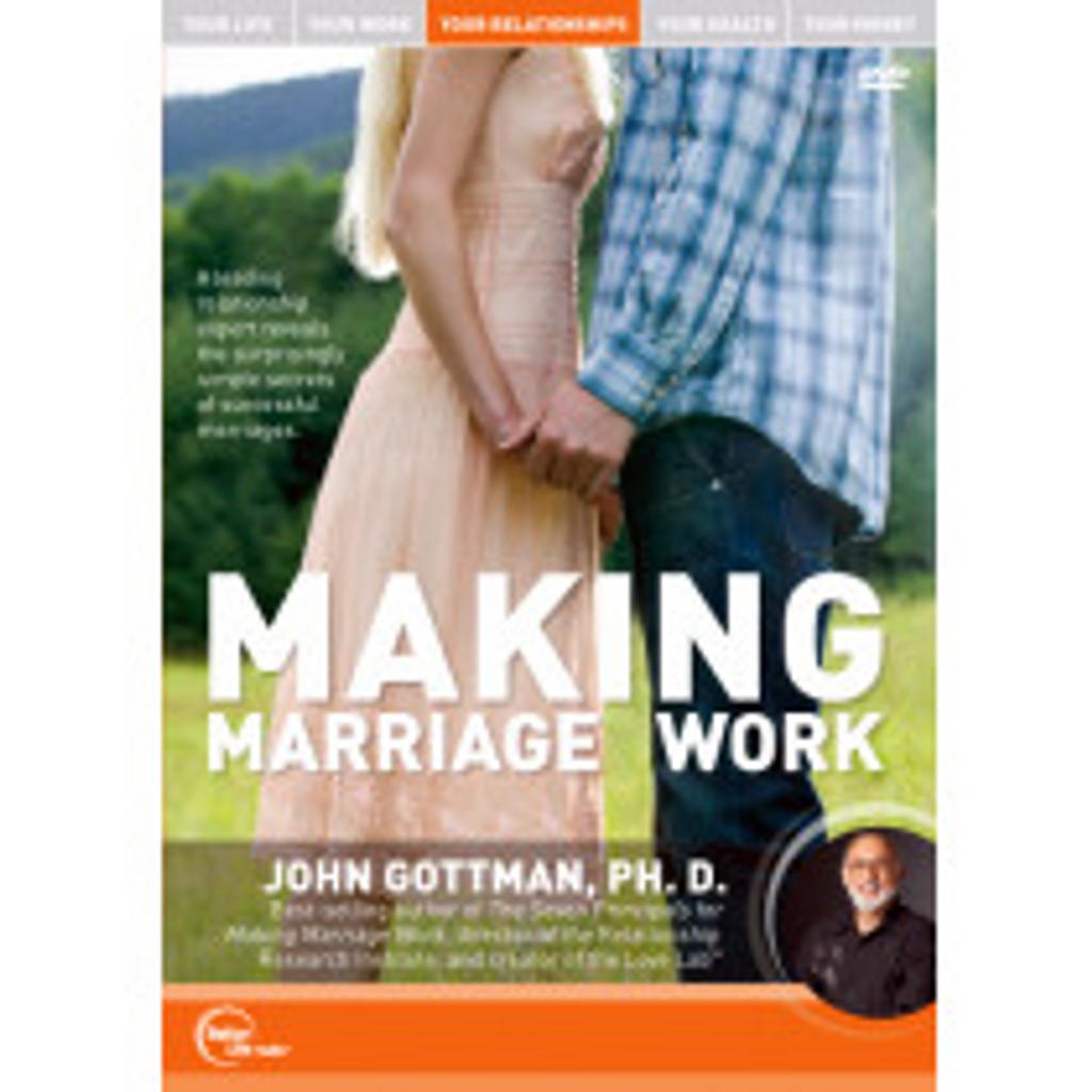 Making Marriage Work MP3 Audio Program by Dr. John Gottman