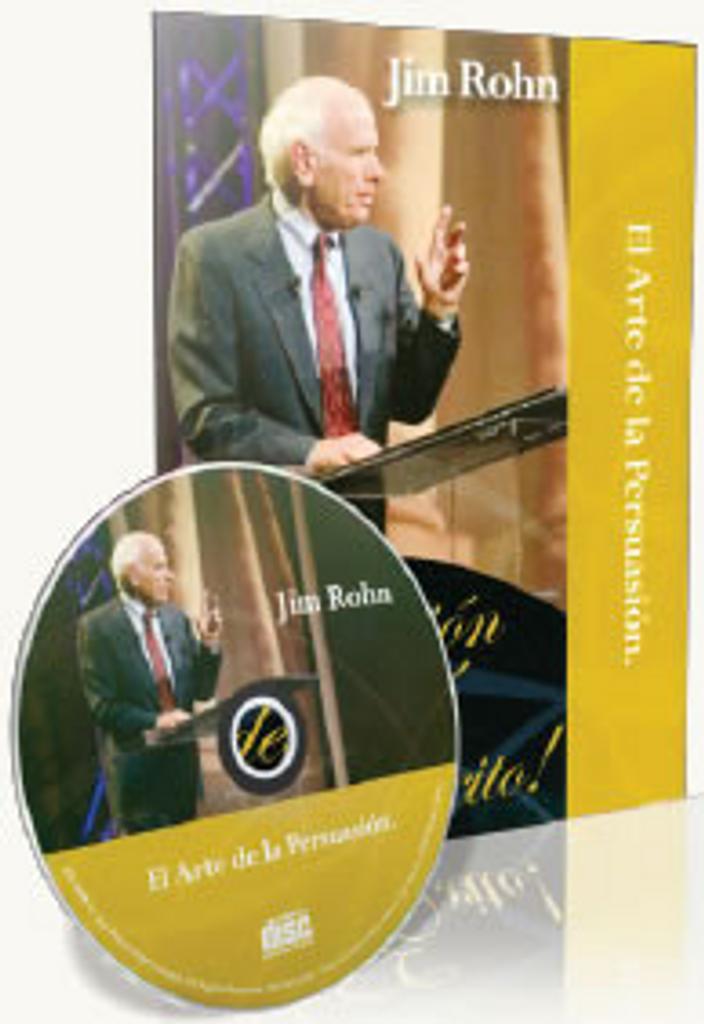 El Arte De La Persuasion Spanish CD by Jim Rohn