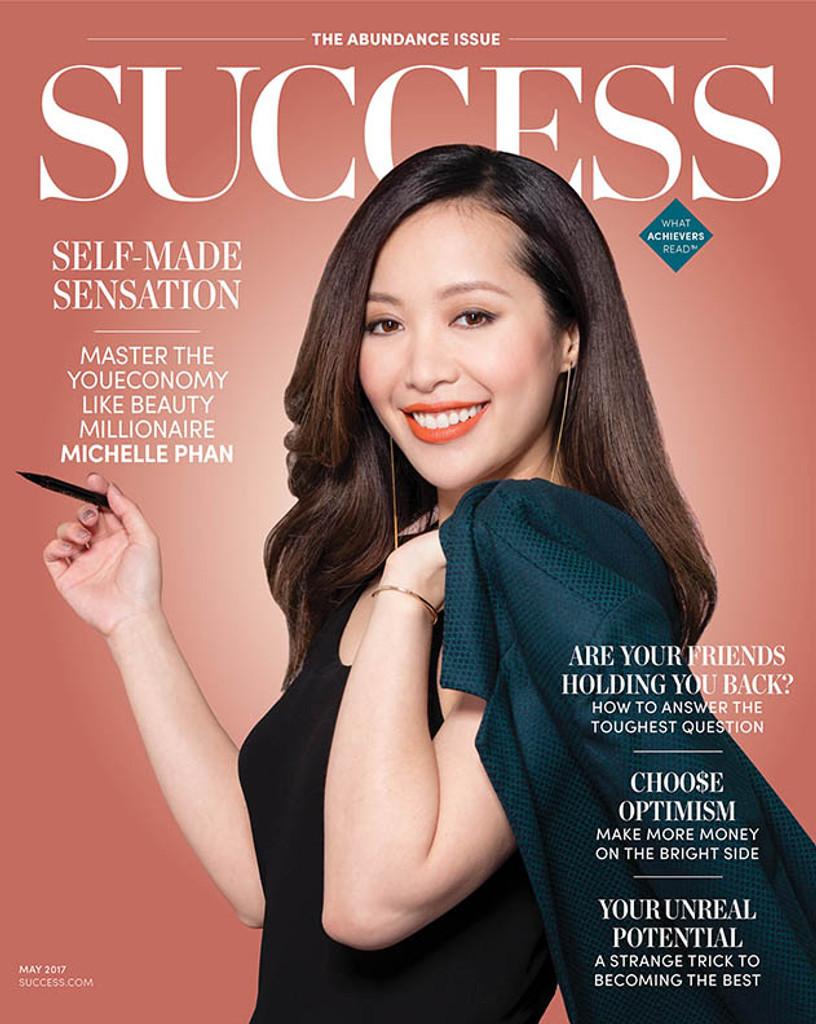 SUCCESS Magazine May 2017 – Michelle Phan