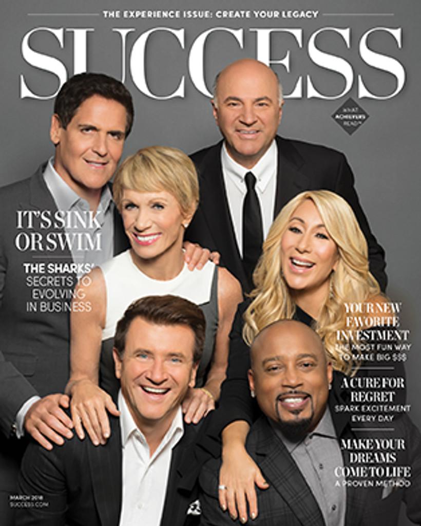 Success Magazine March 2018 - Shark Tank