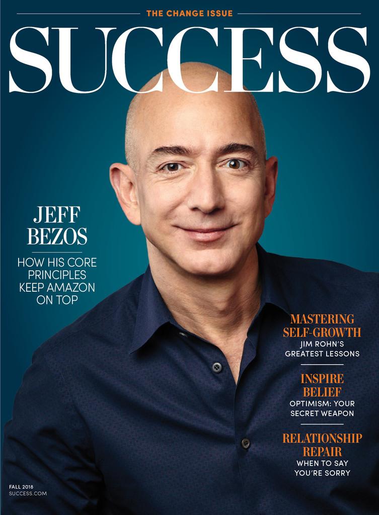 Success Magazine Fall 2018 - Jeff Bezos