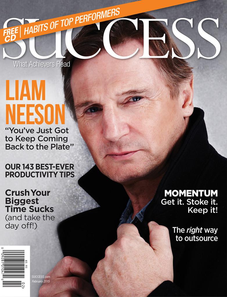 SUCCESS Magazine February 2015  - Liam Neeson