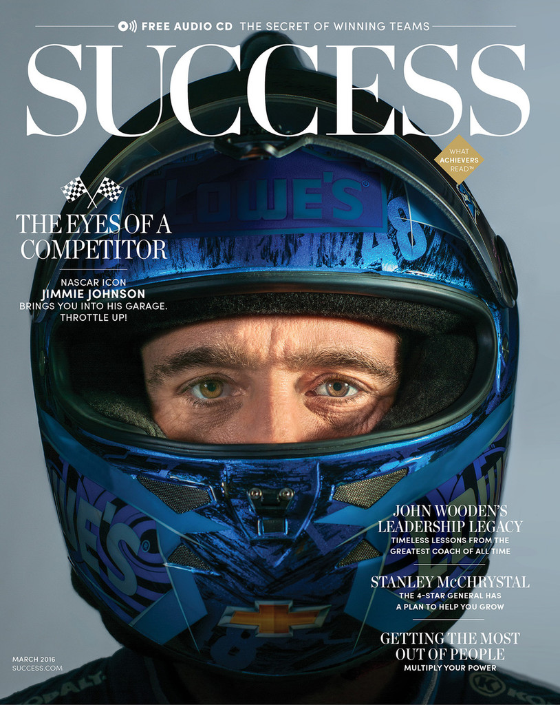 SUCCESS Magazine March 2016 - Jimmie Johnson
