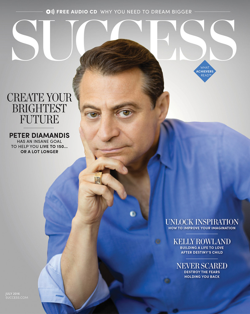 SUCCESS Magazine July 2016 - Peter Diamandis