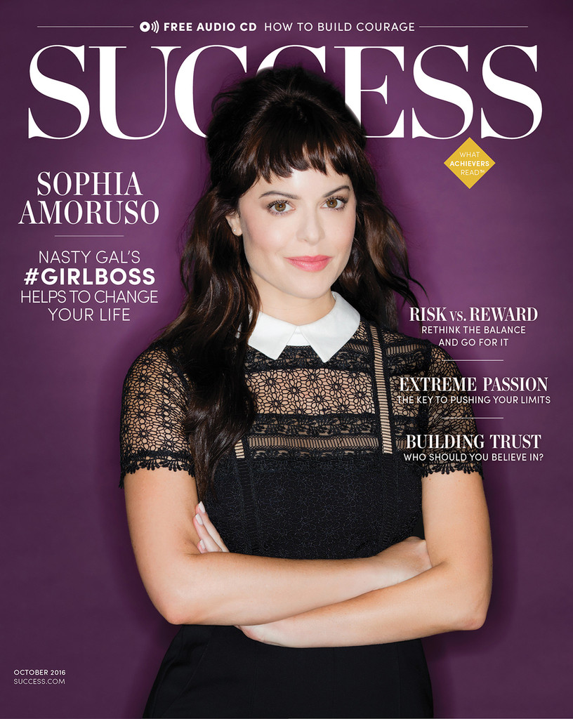 SUCCESS Magazine October 2016 - Sophia Amoruso