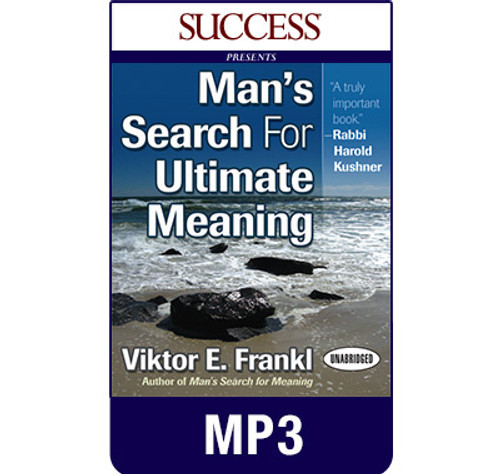 Man's Search for Ultimate Meaning MP3 download audiobook by Viktor E. Frankl